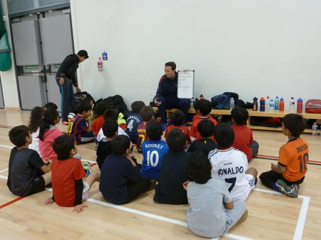 Sports activities at Abu Hanifah Foundation