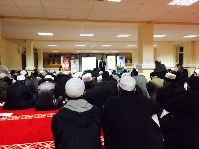 Faith Associates talk to Madrassah teachers with Lancashire Council for Mosques