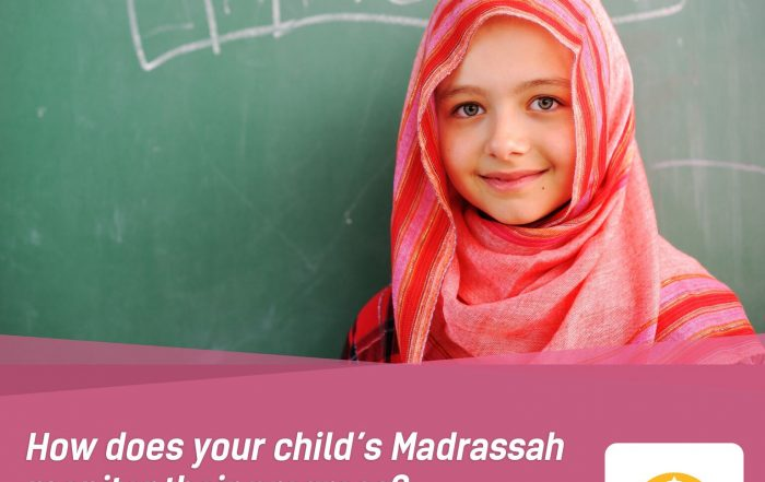 How does your child's Madrassah manage their progress