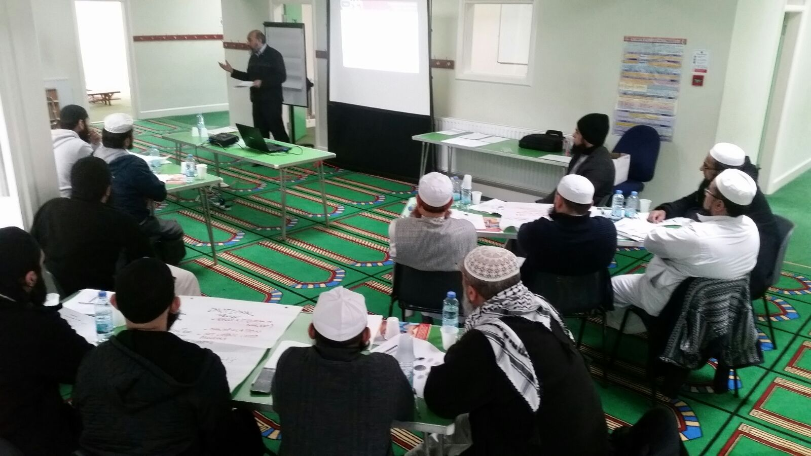 Level 1 Safeguarding Training at Masjid al Farouq in Walsall