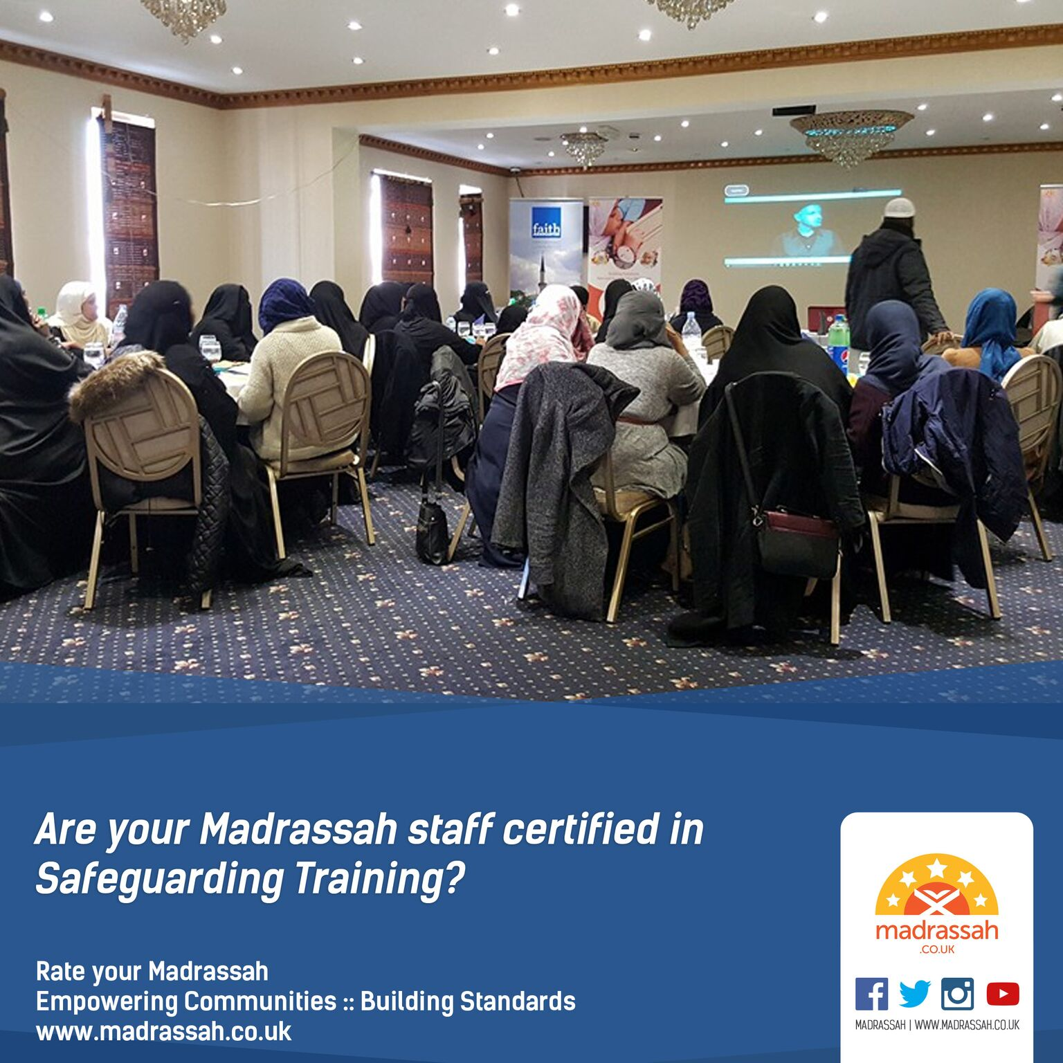Are your Madrassah staff Level 1 Safeguarding certified