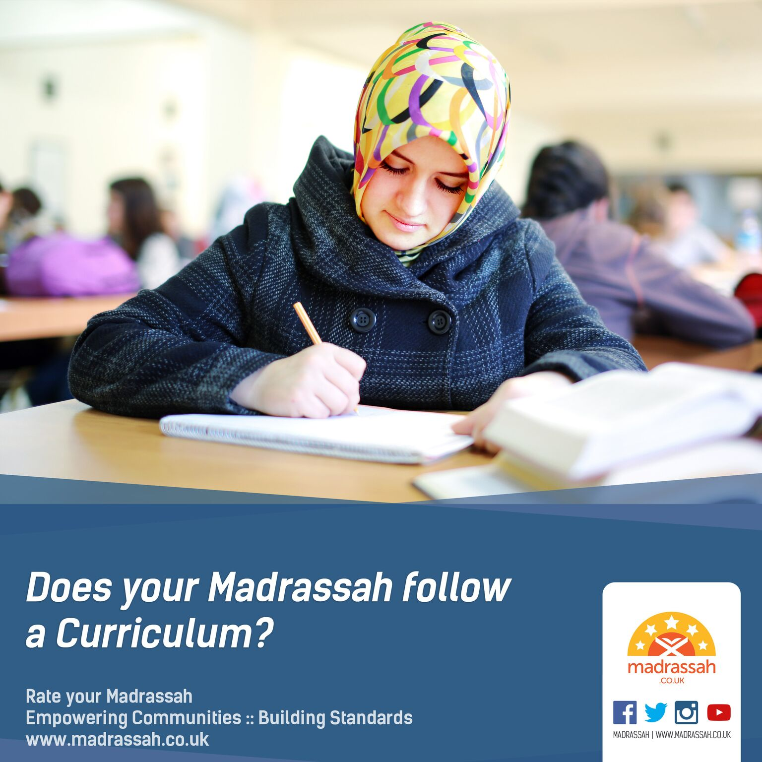 Does your Madrassah follow a curriculum