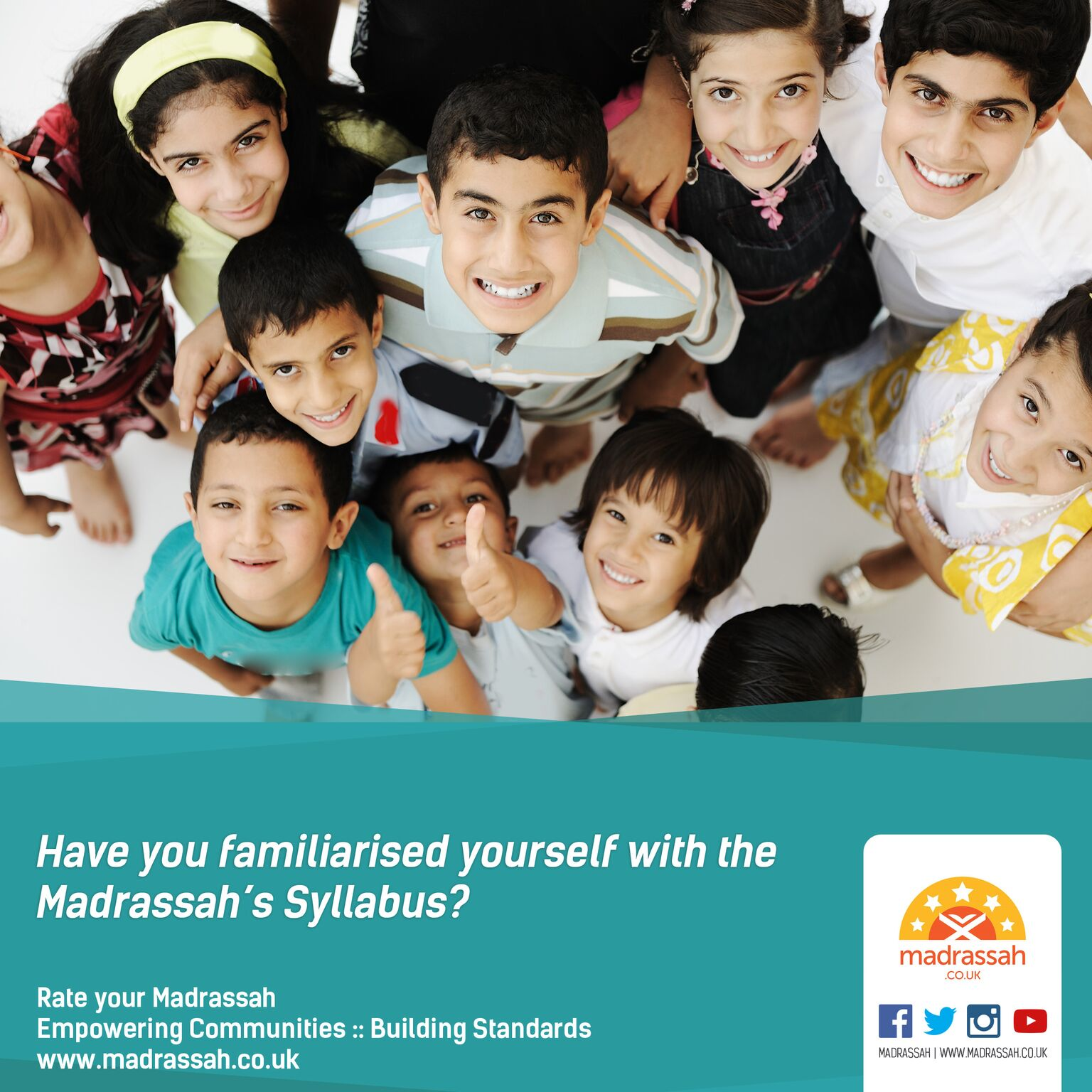 Have you familarised yourself with the Madrassah syllabus