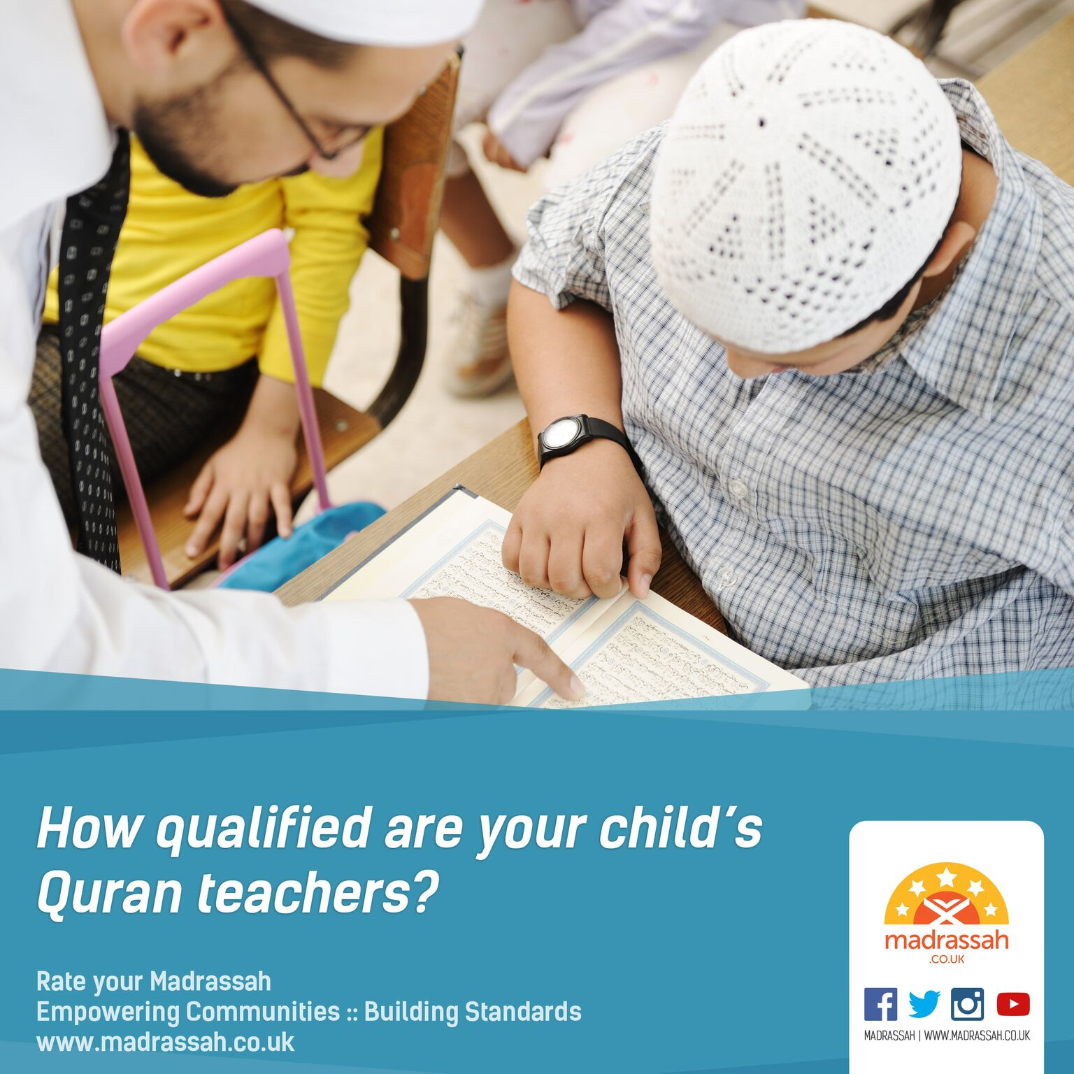 How qualified are your child's Quran teachers